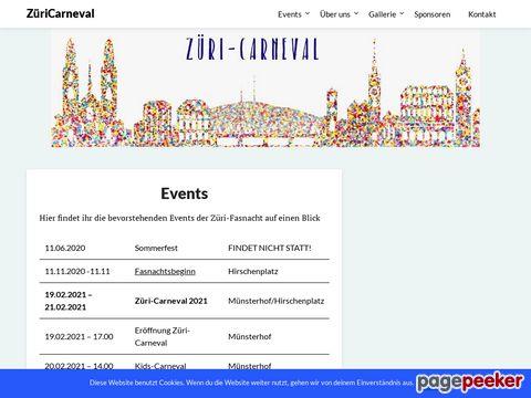 ZüriCarneval - Fasnacht Total - Fasnacht für alle