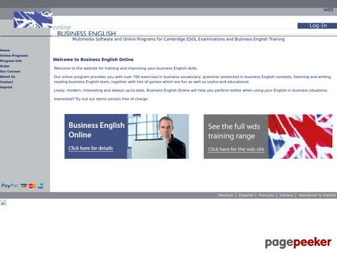 Business-Englisch Online-Training