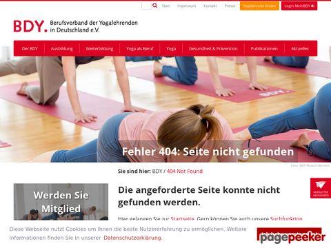 yoga.de - Berufsverband der Yogalehrenden in Deutschland