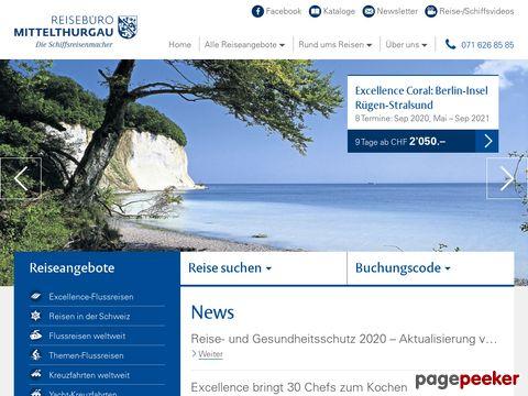 Reisebüro Mittelthurgau Fluss- und Kreuzfahrten AG - Weinfelden TG