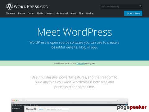 WordPress › Blog Tool and Publishing Platform