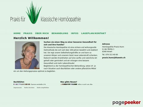 Homöopathie Praxis Hunn in Hinwil ZH