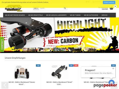 Mo-Bo - Dein elektrisches Skateboard // Your elektro skateboard