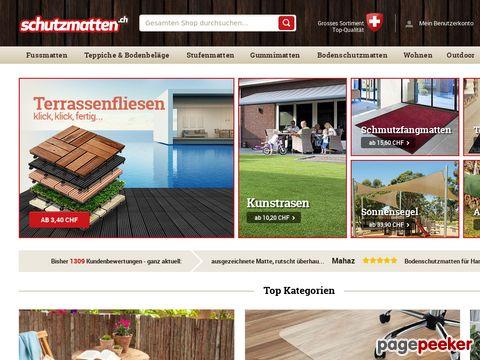 schmutzfangmatte-fussmatte.ch - Fussmatten Onlineshop