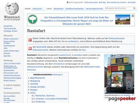 Rastafari - Wikipedia