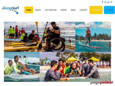 accessurfhawaii.org - AccesSurf Hawaii