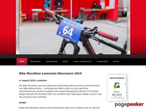 Bike Marathon Lumnezia (Graubünden, Schweiz)