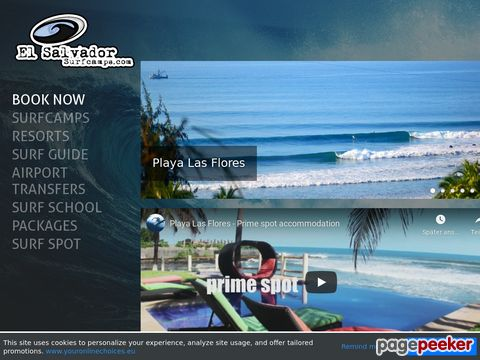El Salvador Surf Camps