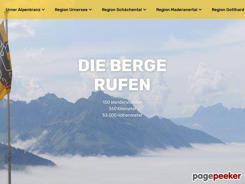 top-of-uri.ch - Uri Gotthard hoch hinaus