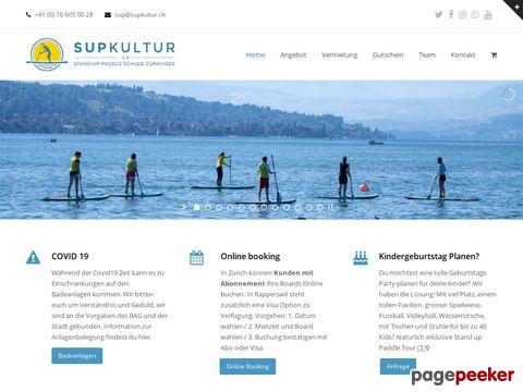 Supkultur   Stand up Paddle Vermietung und Touren - SUP in Zürich