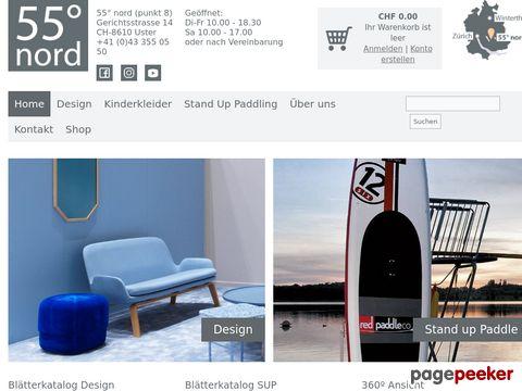55 Grad Nord - Design Store & SUP-Kurse in Uster und Pfäffikon