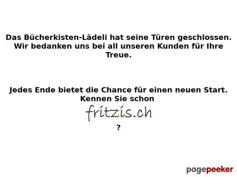 Buecherkiste.ch