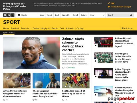 BBC SPORT | Football | Africa Cup of Nations