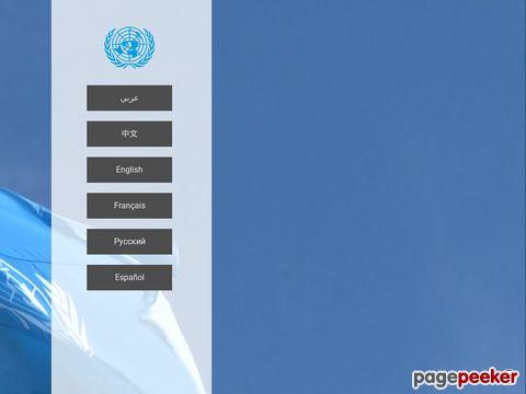 UNO - Vereinte Nationen - United Nations (UN)