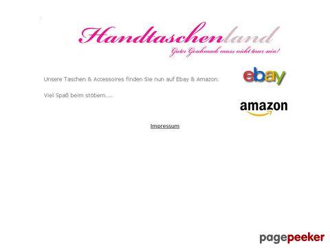 Handtaschenland.de - Taschen & Accessories für Sie und Ihn