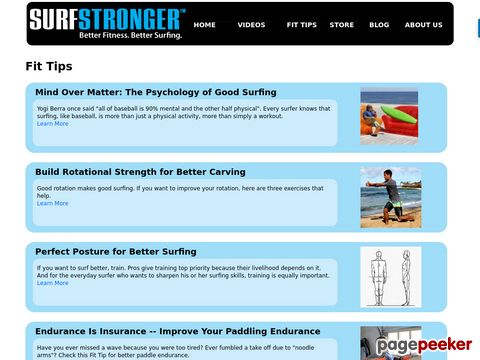 surfstronger - surfers workout - tips