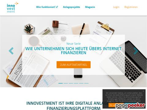 Innovestment.de - Crowdinvesting und Private Placement für Start-ups