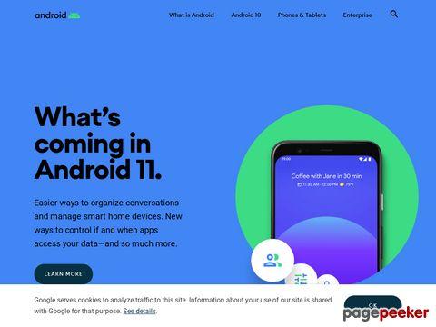 android.com - Android Plattform