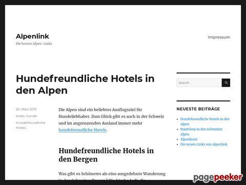 alpenlink.ch - Tourist-Informationen aus allen Regionen der Schweiz