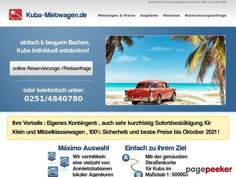Kuba-Mietwagen.de