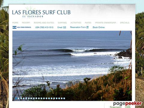 Las Flores Surf Club, El Salvador