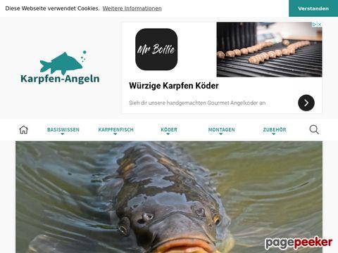 karpfen-angeln.com - Infos rund ums Karpfenangeln