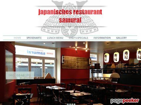 Japanese Restaurant Samurai