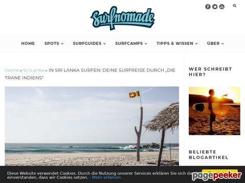 """In Sri Lanka surfen: Deine Surfreise durch """"die Träne Indiens"""""""