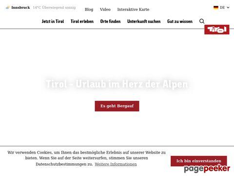 tirol.at - Infos für Ihren Urlaub in Tirol