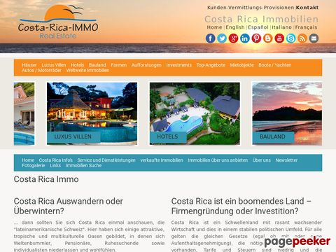 Immobilien in Costa Rica
