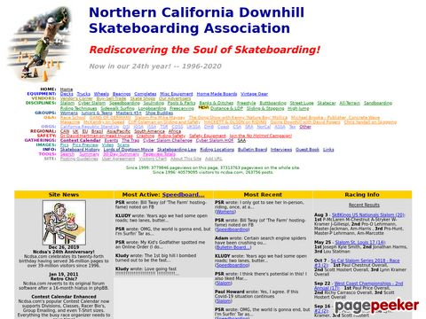 Ncdsa.com - Downhill, Slalom, and Longboard Skateboarding