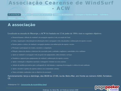 ACW, Associação Cearense de Windsurf (Brasilien)