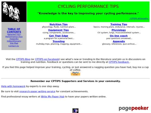 CYCLING PERFORMANCE TIPS - tolle Tips & Tricks für Radsportler