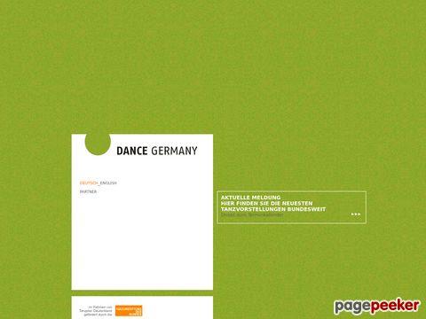 Dance Germany .org - Portal für den professionellen Tanz