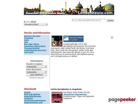 London heute - die ultimativen Seiten über London auf deutsch