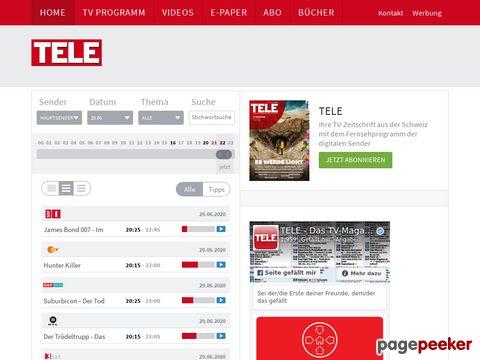 tvtaeglich.ch - Schweizer TV-Online-Programmführer