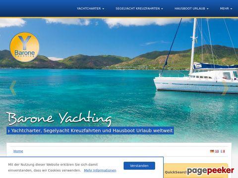 Yachtcharter von Barone Yachting