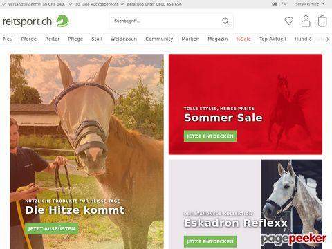 reitsport.ch die CH-Webseite rund ums Pferd