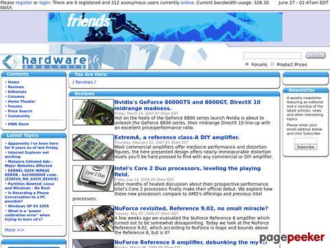 hardwareanalysis.com - Hardware Analysis - Reviews