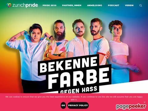 Zurich Pride Festival  - Switzerland