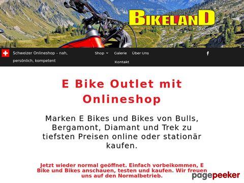 bike-land.ch - Bikeland Wallisellen, Markenbikes zu tiefsten Preisen