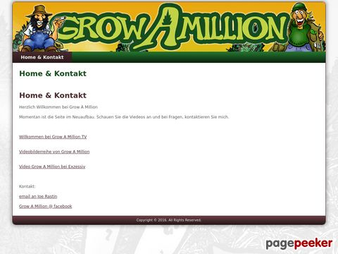 growamillion.ch - Grow A Million (Brettspiel)
