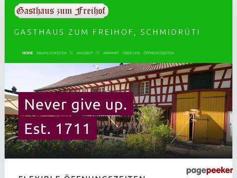 Gasthaus zum Freihof, Schmidrüti (Zürcher Oberland)