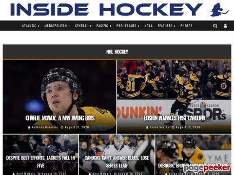 INSIDE HOCKEY - Hockey News Portal