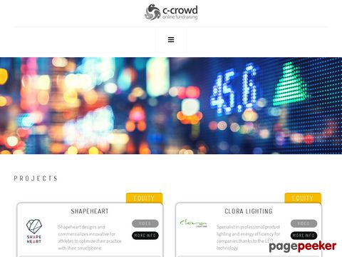 c-crowd.com – Online Fundraising