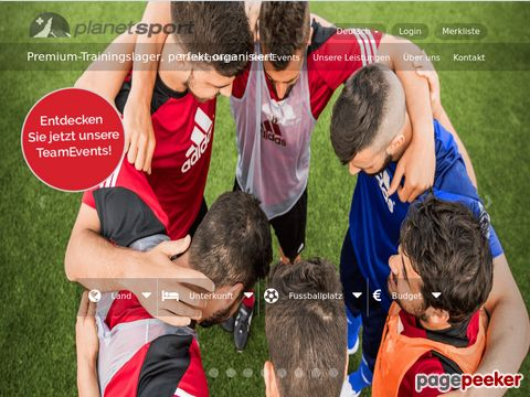 Planet Switzerland Sports - Organisator von Fussballcamps
