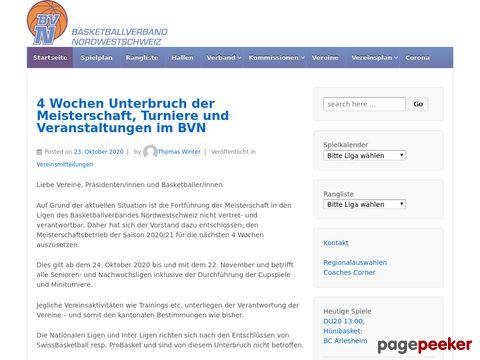 BVN - Basketballverband Nordwestschweiz