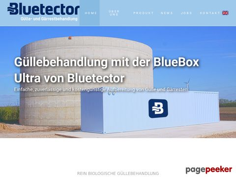 Bluetector.com - The Wastewater Cleaning Company from Switzerland