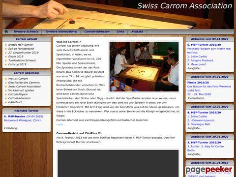 Carrom Schweiz