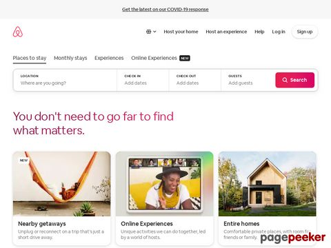 airbnb.com - The world leader in travel rentals